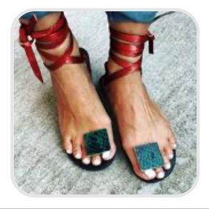 Roman Lace-up Sandals